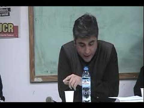 Martin Prieto en el Festival de Poesia Salida al Mar