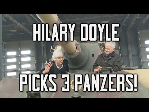 Hilary Doyle's 3 Panzer Picks: Which Were The Best German Tanks Of WWII?