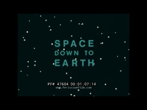 NASA SPACE DOWN TO EARTH  1970s SPACE EXPLORATION & SATELLITES 47604