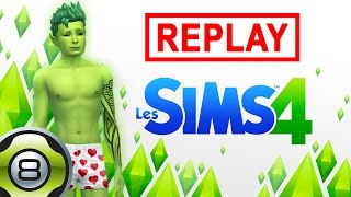 Les Sims 4 FR - Ted Alien - En mode Serial Lover - Replay du 20.10.15