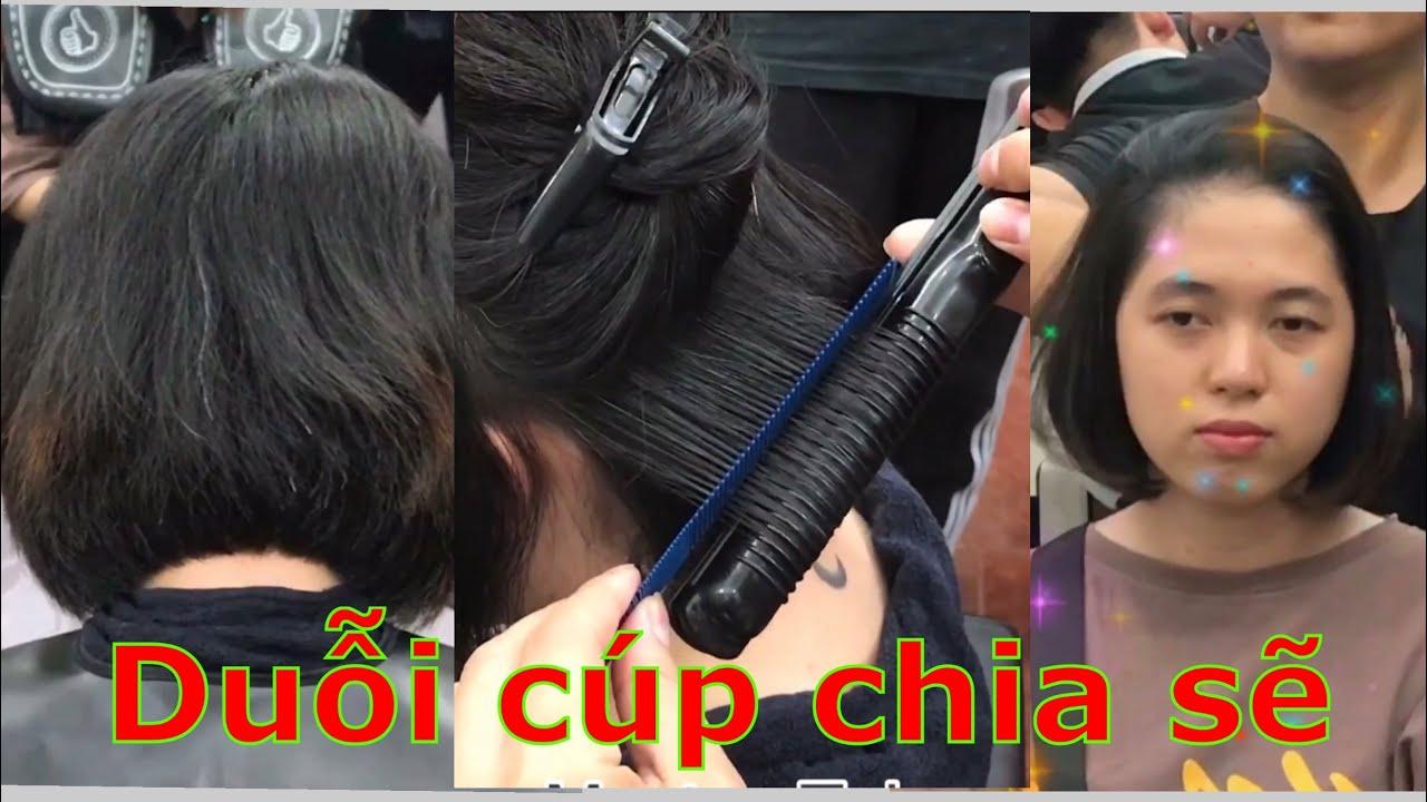 Duỗi cúp tóc ngắn – duỗi cụp   Khái quát những tài liệu liên quan ép cụp đuôi chuẩn nhất