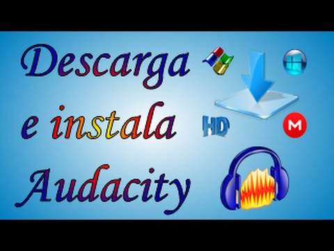 Descargar e instalar  audacity  y guardar en formato MP3 2015