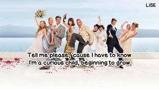 "Amanda Seyfried - The Name of the Game (From ""Mamma Mia!"") [Lyrics Video]"