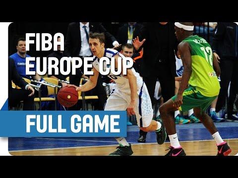Tsmoki-Minsk (BLR) v AEK (CYP) - Full Game - Group V - FIBA Europe Cup
