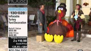 Inflatable Turkey Yard Decoration