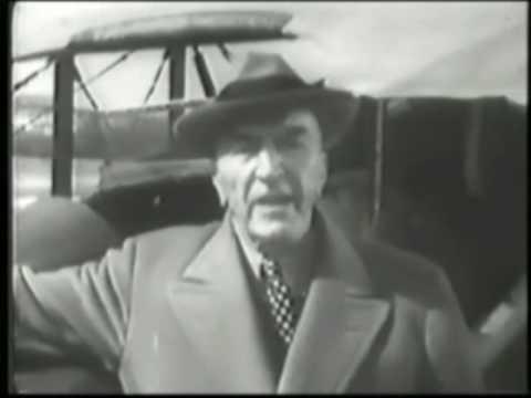 1956 CAPTAIN EDDIE RICKENBACKER US WW1 ACE OF ACES SPEAKS