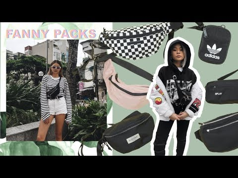What's In Our Fanny Packs + Fanny Pack Collection