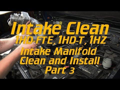 EGR Delete, Intake clean: [Part 3] Intake manifold clean/ reinstall.