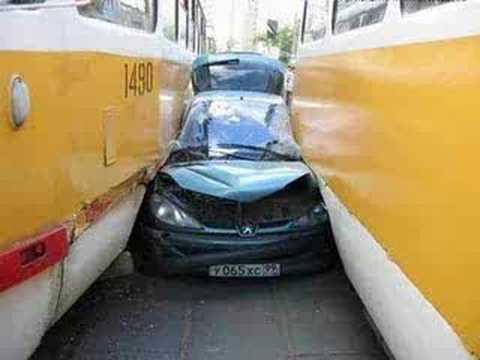 strange car crashes