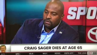 Michelle Beadle Remembers Craig Sager On ESPN