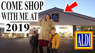 ALDI GROCERY SHOPPING HAUL 2019 | WEEKLY SHOP FOR A FAMILY OF 6 ON A BUDGET
