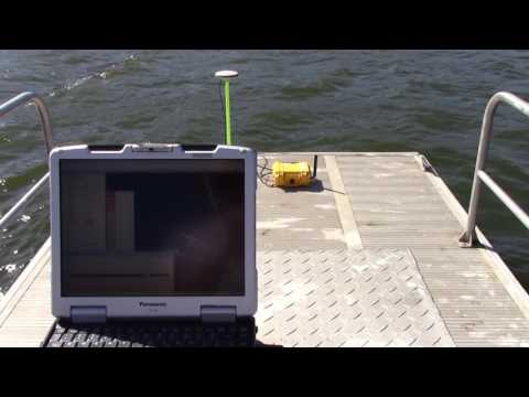 CEE HydroSystems CEESCOPE USV Remote Survey Boat Echo Sounder and GPS