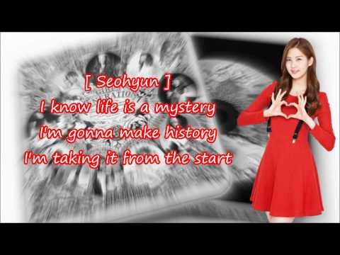 Girls' Generation - The Boys (Eng. Ver.) [ LYRICS + NAMES ]