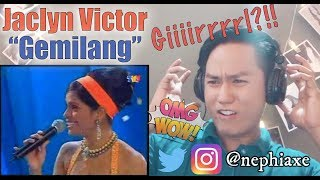 Jaclyn Victor - Gemilang AJL20 | REACTION