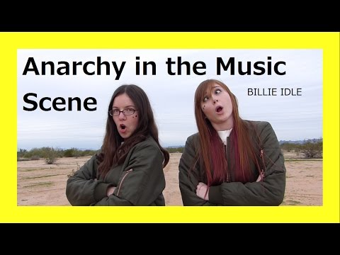 Bekah and Ashley Dancing to Billie Idle - ANARCHY IN THE MUSIC SCENE