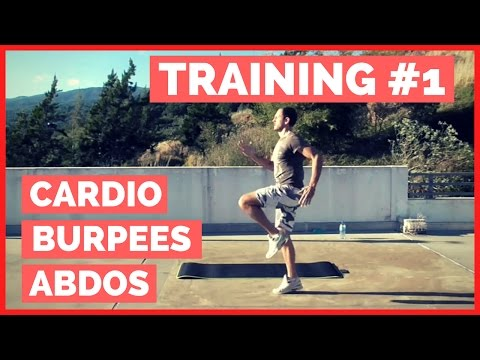Circuit Training #1 - Cardio / Burpees / Abdos - Santedefer.fr