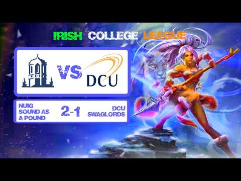 Irish College League (NUIG VS DCU) League of Legends 2014