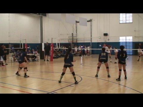 Offshore Volleyball Club 13-1 Girls vs Seal Beach VBC 13-Marcelo Match2