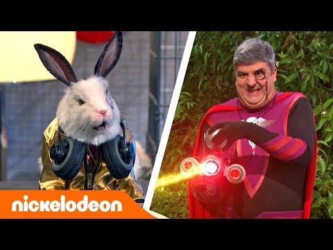 Грозная семейка | Лучшие моменты с Доктором Колоссо 🐇 | Nickelodeon Россия