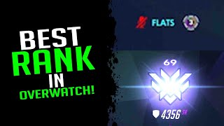 The Best Rank Y๐u Can Get In Overwatch! - Overwatch Streamer Moments Ep. 159