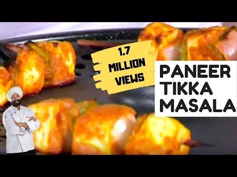 Paneer Tikka Masala  In Oven By Chef Harpal Singh