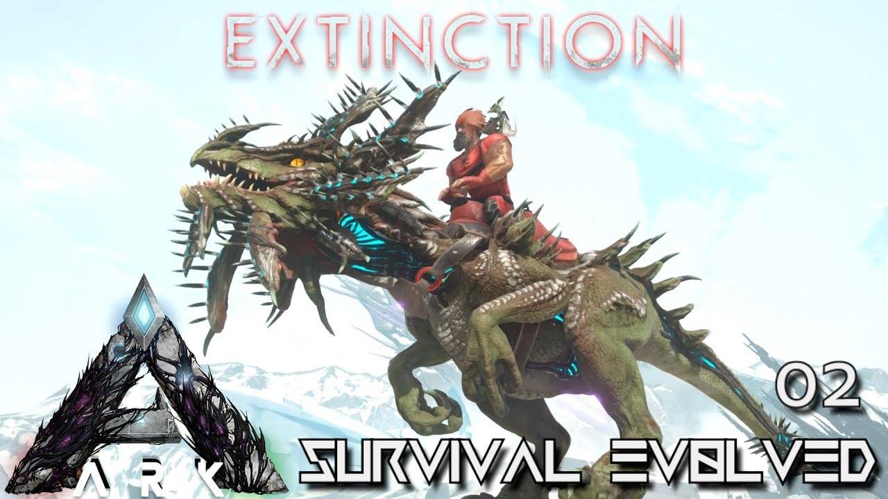 ARK: EXTINCTION - NEW DINO VELONASAUR TAME !!!   ARK SURVIVAL EVOLVED E02