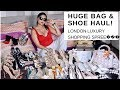 LONDON MEGA SHOE & BAG HAUL | LUXURY | Sonal Maherali