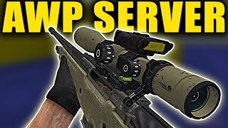 Counter-Strike: Source - AWP Deathmatch Gameplay