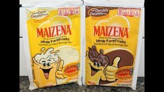 Maizena Corn Starch Beverage Mix: Coconut &amp Chocolate Review
