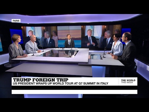 Trump wraps up world tour at G7 summit in Italy (part 2)