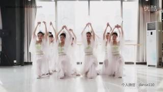 单色舞蹈菱角湖馆中国舞教练班 古典舞《雨中花》 中国舞视频 高清