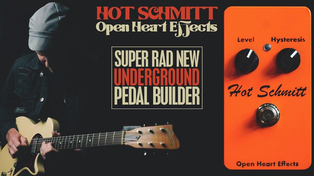 Demos in the Dark // Open Heart Effects Hot Schmitt // Fuzz Pedal Demo