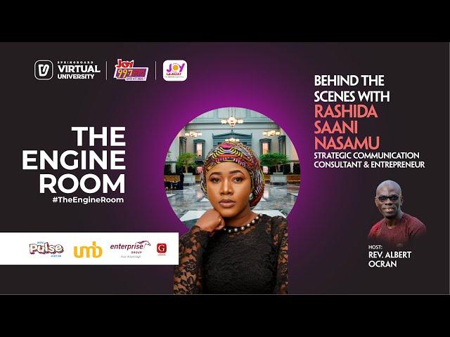 Rashida Nasamu shares entrepreneurial secrets and about Alhaji's Wife waakye in #TheEngineRoom
