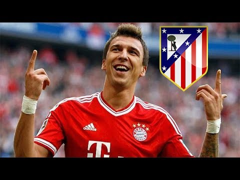 Mario Mandzukic ● Welcome to Atlético de Madrid