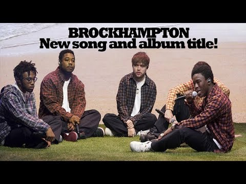 BROCKHAMPTON Perform New Song 'Tonya' and Announce New Album Title!!