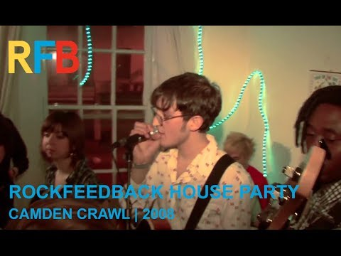 Rockfeedback House Party | Camden Crawl 2008