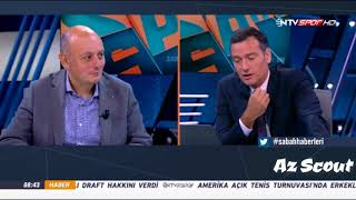 Ntv Spor-da Qarabağ FK tarixi matçda Kopenhageni keçməsi haqqında danışıldı.