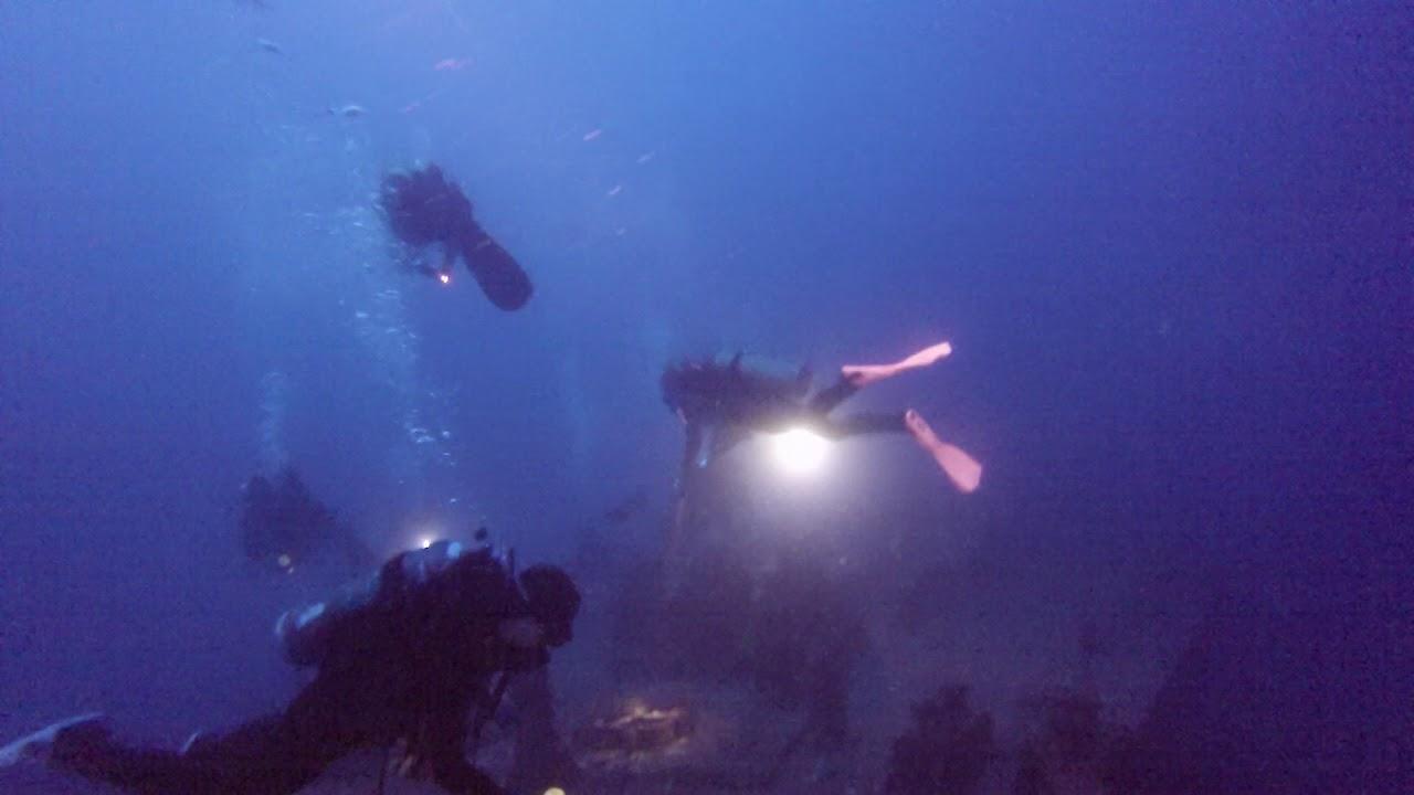 hawaii scuba university alumni dive the sea tiger wreck youtube