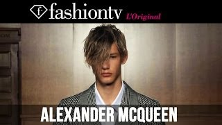 Alexander McQueen Men Spring/Summer 2015 | London Collections: Men | FashionTV