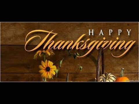 Happy Thanksgiving Day Good Morning E Card Youtube