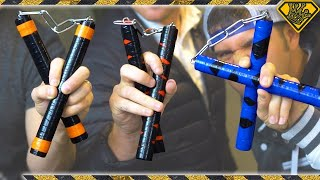 Repeat youtube video Making Ninja Turtle Nunchucks (With DevinSuperTramp and Stuart Edge)