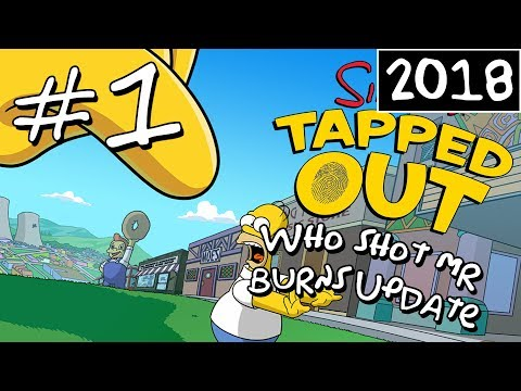 KC Plays! - The Simpsons: Tapped Out - Who Shot Mr. Burns Update | #1 (2018)