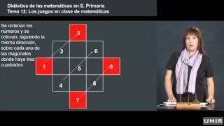 UNIR -  Juegos para clase primaria de matemáticas, España, 2013
