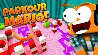 """Mapy od Widzów #382 -  """"Parkour Mario w Minecraft!"""""""