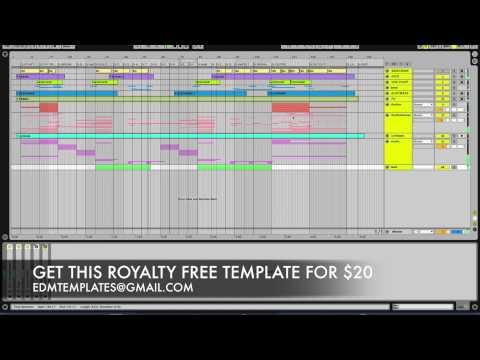 EDM TEMPLATES - PROGRESSIVE BIG ROOM (Includes Mastering Chain)