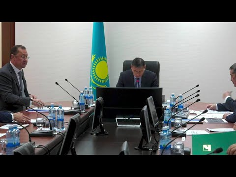 Совещание под председательством Первого вице-министра сельского хозяйства РК