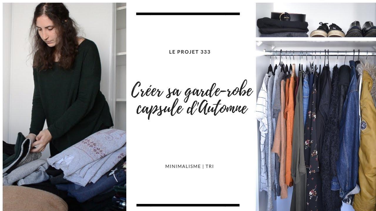 garde robe capsule d 39 automne projet 333 minimalisme kathleen bsq youtube