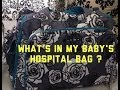 What's in my Baby's Hospital Bag? 2014 Part 1