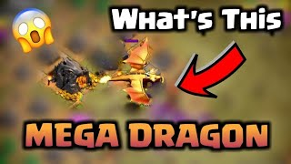 Mega Dragon vs Electro Dragon - New Dragon Clash of Clans Update - Dragon's Lair Goblin Map - COC