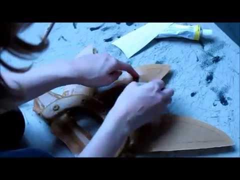 Cosplay weapon tutorial (Foam + Worbla)